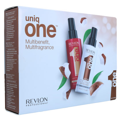 Revlon Uniq One Duo Pack (Classic/Coconut)