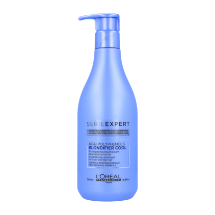 Loreal Expert Blondifier Cool Shampoo 500Ml